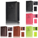 Multi-Function Leather Passport Card Holder