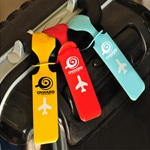 Cute Travel Luggage Label Airplane Strap