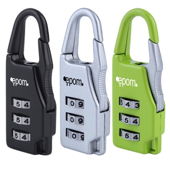 Travel Combination Luggage Zipper Padlock