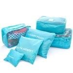 Perfect 6 Piece Organizer Travel Bags