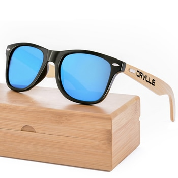 Retro Wooden Men Sunglasses