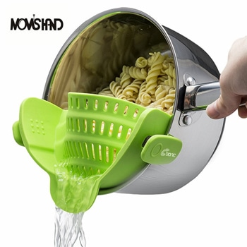 Kitchen Strainer Silicone Clip On Colander