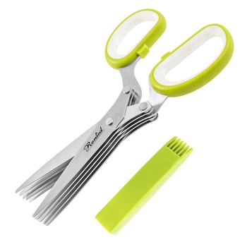 Kitchen Cutlery 5 Blade Herb Scissors
