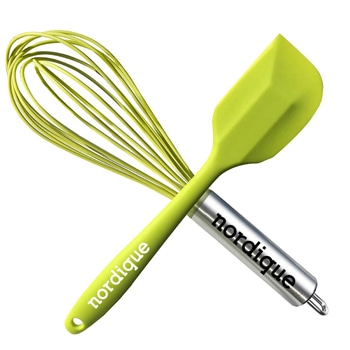 Kitchen Wire Balloon Silicone Whisk Spatulas Set