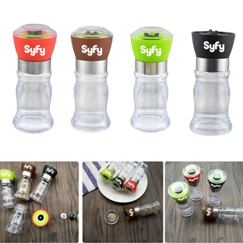 Manual Pepper Grinder Cruet Bottles