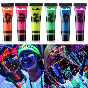 Reactive Glow Face Colour Paint