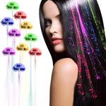 Lights-Up Fiber Optic LED Hair Lights