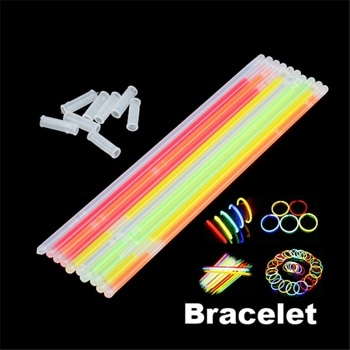 Multi-Color Light-Up Glow Bracelet