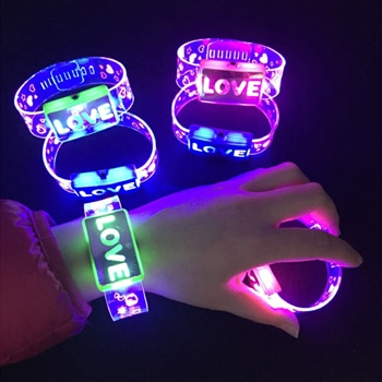 Flashing Hand Ring LED Bracelet