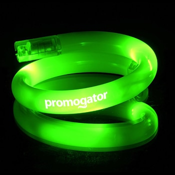 Multicolor Flashing LED Tube Bracelet
