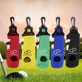 Portable Neoprene Golf Balls Holder