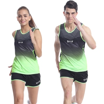 Sleeveless Running Sports Vest Shorts