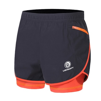 2 in 1 Mens Marathon Running Shorts