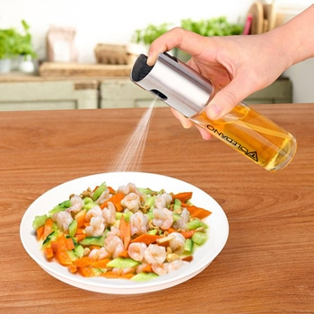 Portable Glass Bottle Oil Sprayer Pump