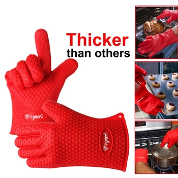 Barbecue Heat Resistant Silicone Gloves