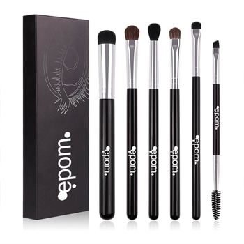 Makeup Eyeshadow 6-Piece Blend Brush Set
