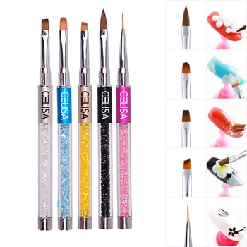 Nail Art Rhinestone Acrylic Brush