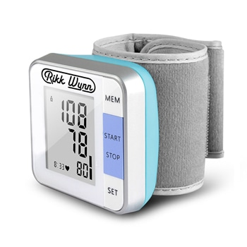 Fully Automatic Wrist BP Heart Rate Monitor