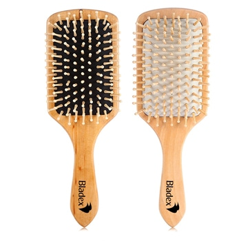 Shovel Massage Wood Hair Brush