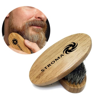 Wooden Boar Bristles Beard Brush