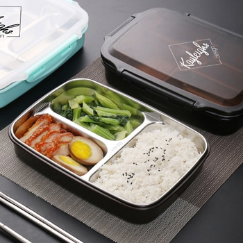Portable Stainless Steel Water Heating Lunch Container