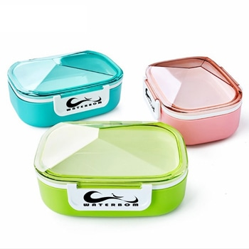 Diamond Thermal Lunch Box With Soup Bowl