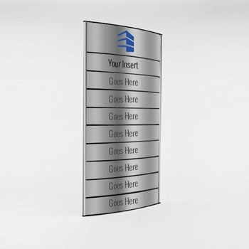 Secure Interior Directory Signage