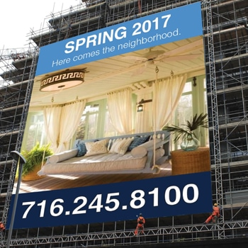 Scaffolding Building Wrap Banners
