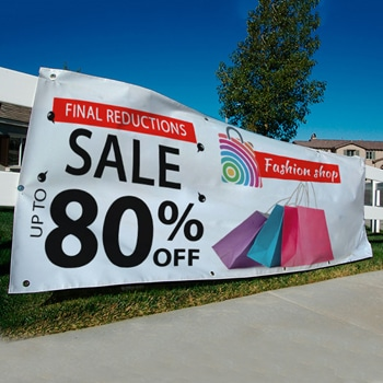 Flexible Outdoor Vinyl Banners