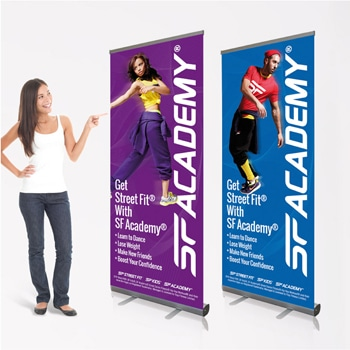 Retractable Roll-Up Banners