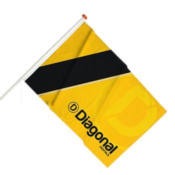 Flutter Street Facade Flags