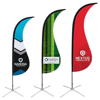 Shark Fin Feather Flag