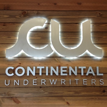 Reverse illuminated Channel Letters Signage