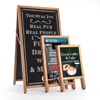 Premier A-Frame Chalkboard Sign
