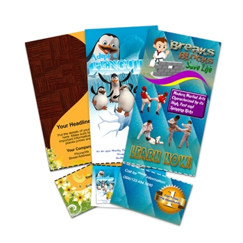 Perforated Tear Off Rip Cards
