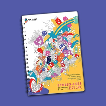 Hybrid Coloring Notebook