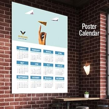 Create Digital Poster Calendars