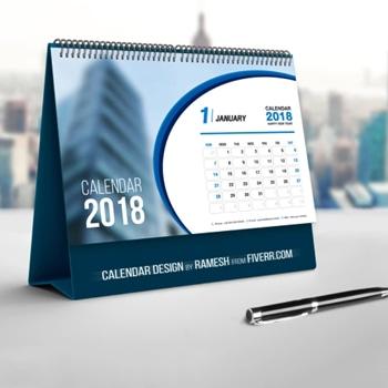 Spiral Desktop Calendar