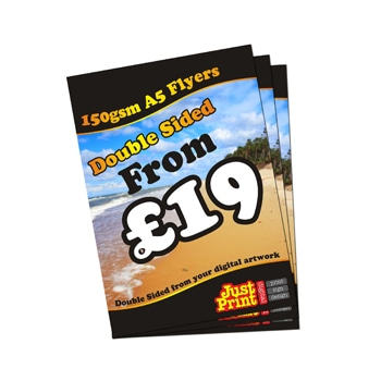 Double Sided A6 Flyers and Leaflets