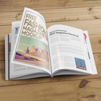 Ultra Perfect Bound Magazine