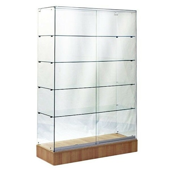 Portable Display Glass Showcase