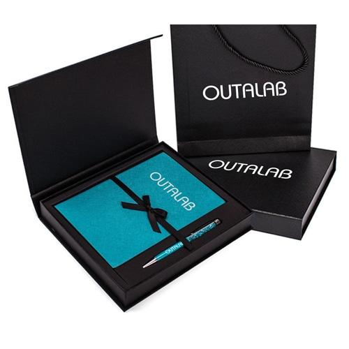 Custom Executive Notebook Gift Set with Stylus Pen