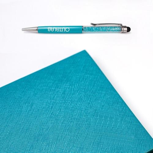 Custom Executive Notebook Gift Set with Stylus Pen Image 4