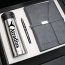 Corporate Notebook, Pen & Thermos Gift Set Image 1
