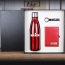 Stainless Steel Water bottle & Notebook Gift Set with Keychain