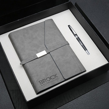 Wholesale Stylish Notebook Gift Set with Executive Pen