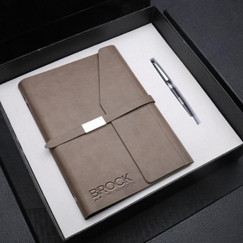 Wholesale Stylish Notebook Gift Set with Executive Pen Image 2