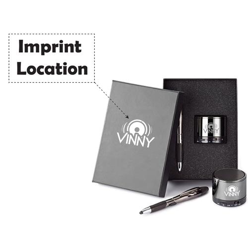 Portable Speaker & Pen Gift Set Image 5