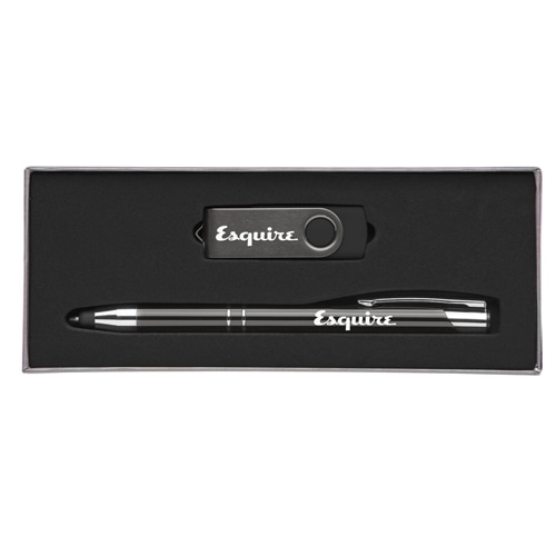 Custom Executive Pen Gift Set with 8GB Flash Drive Image 4