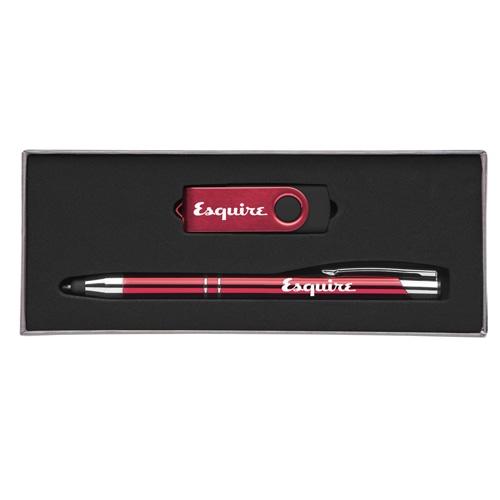 Custom Executive Pen Gift Set with 8GB Flash Drive Image 6
